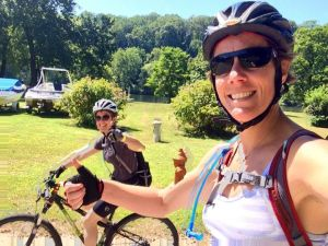 Last long ride (and third annual Schuylkill (metric-plus) Center with my friend, Val) before the Longest Day